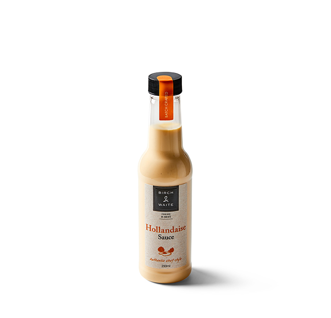 Birch & Waite Hollandaise Sauce 250ml*