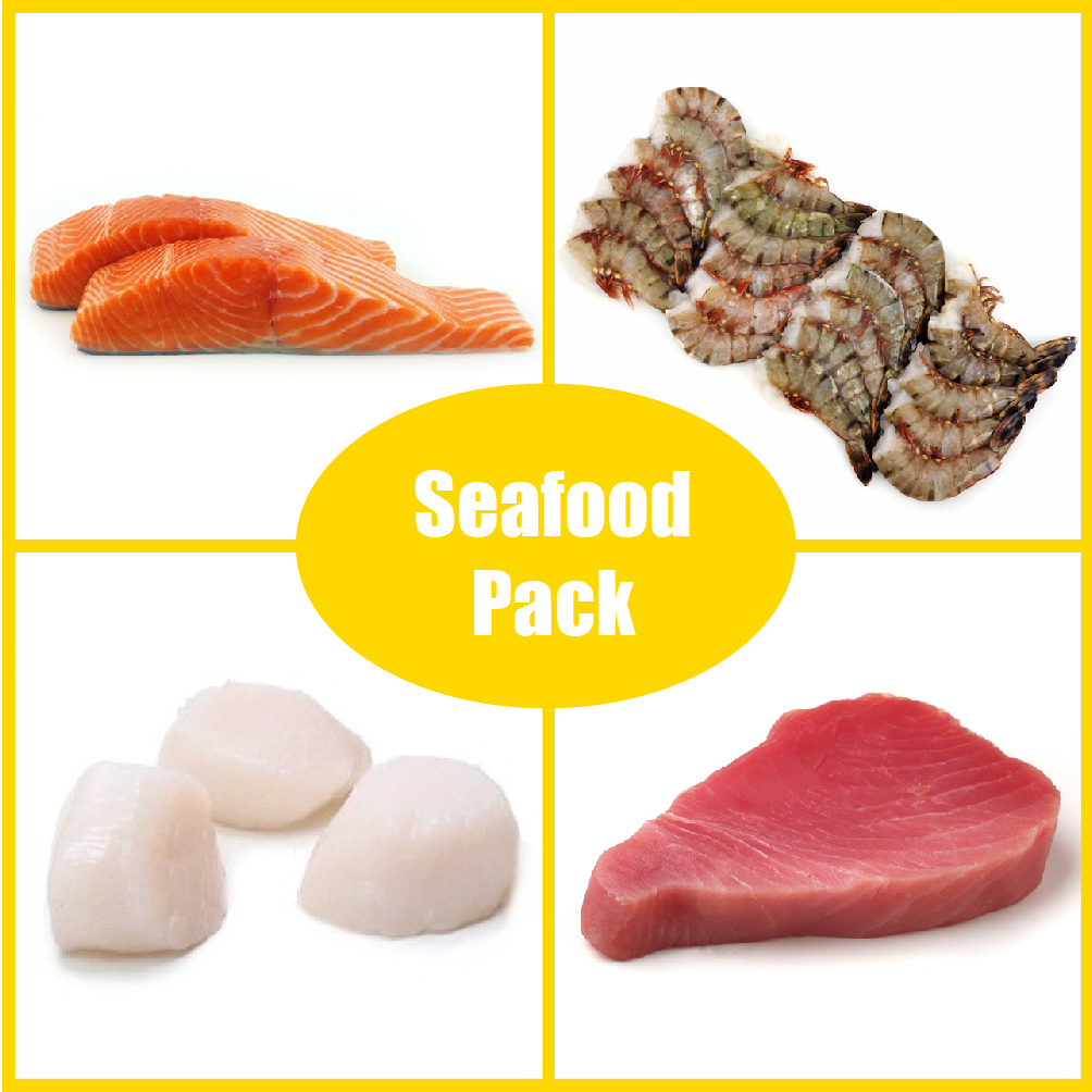 Frozen BBQ Pack - Seafood