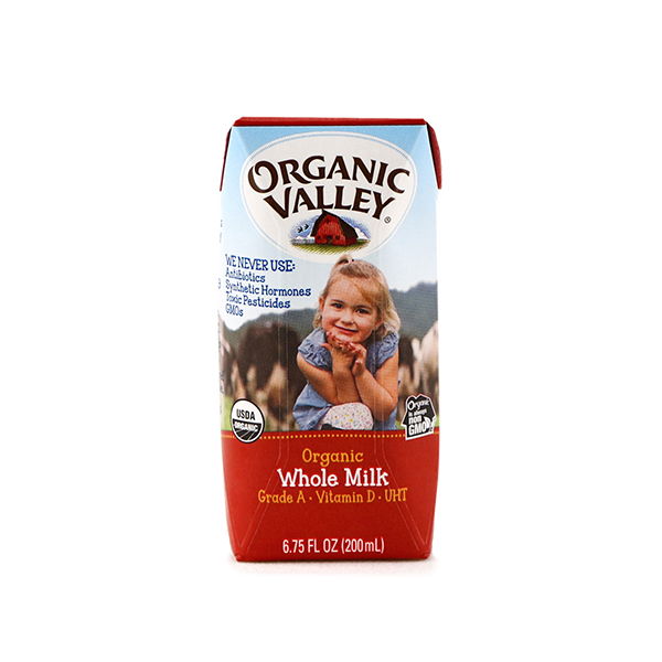 Organic Valley Whole Milk 200ml - US*
