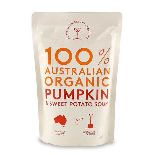 AOFC Organic Pumpkin & Sweet Potato Soup 330g - Aus*