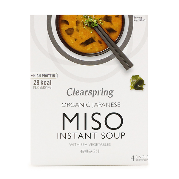 Clearspring Organic Japanese Miso Instant Soup 40g - Japan*