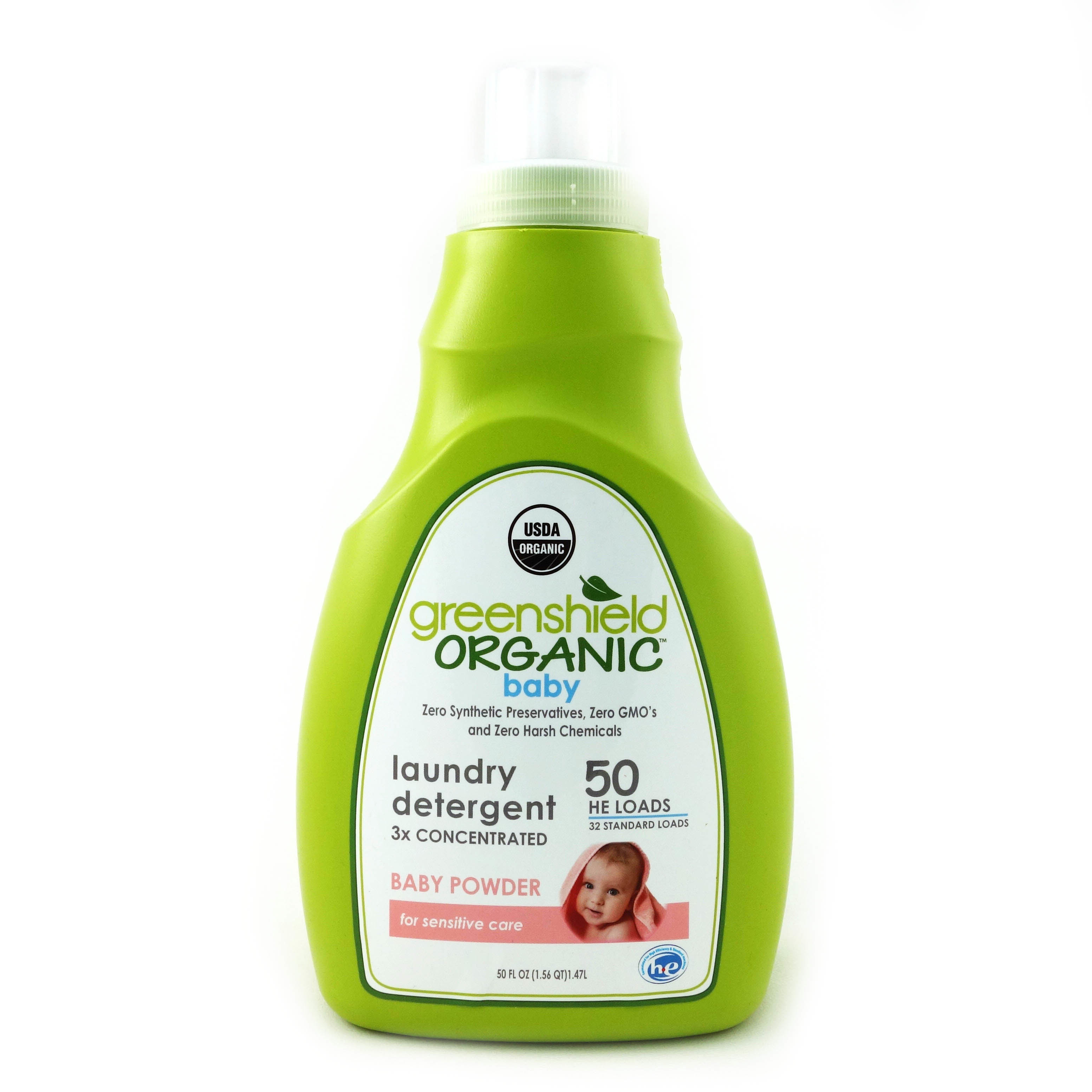 Greenshield Organic Laundry Detergent For Babies Baby