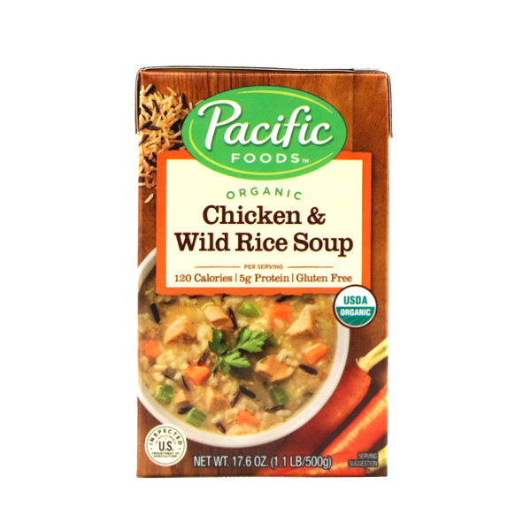Pacific Organic Chicken & Wild Rice Soup 500g - US*