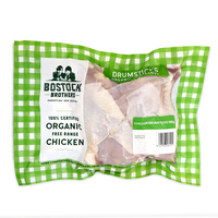 Frozen Bostock Brothers Organic Chicken Drumsticks 500g - NZ*