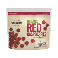Frozen Woodstock Organic Raspberries*