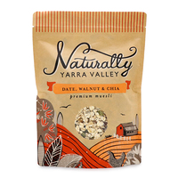 Naturally Yarra Valley Date, Walnut & Chia Muesli 500g - Aus*