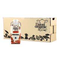 Daioni Organic UHT Mocha Case Offer (12*330ml)- UK*