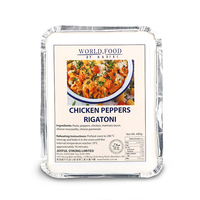 Frozen Habibi Chicken Peppers Rigatoni 480g*