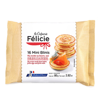 Frozen Félicie 16's Mini Blinis 80g - France*