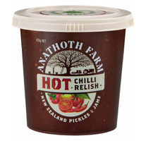 Anathoth Farm Hot Chilli Relish 420g*