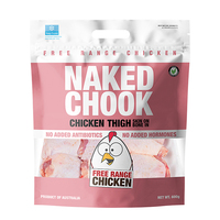 Frozen Naked Chook Bone in Chicken Thigh 600g - AUS*
