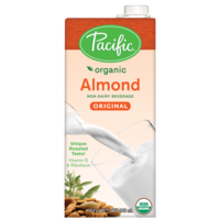 Pacific Organic Almond Beverage Original 946ml*