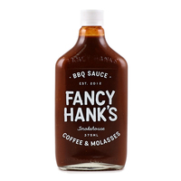 Fancy Hanks Coffee & Molasses BBQ Sauce 375ml - Aus*