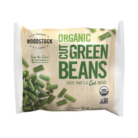 Frozen Woodstock Organic Cut Green Beans 283g*