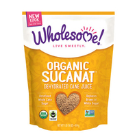 Wholesome Organic Sucanat 454g*