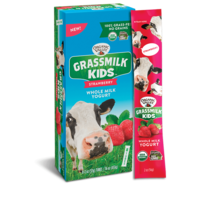 Organic Valley Strawberry Tube Grass Milk Yogurt (8 tubes)*