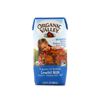 Organic Valley 1% Lowfat Milk 200ml - US*