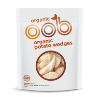 Frozen Omaha Organic Potato Wedges 500g - NZ*