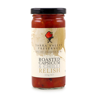 Yarra Valley Roasted Capsicum & Chilli Relish 270g - Aus*