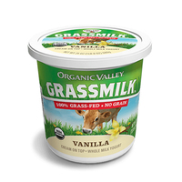 Organic Valley Grassmilk Vanilla Yogurt 24oz*