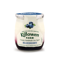 Killowen Farm Handmade Blueberry Live Yogurt 120g - Ireland*