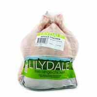 Frozen Lilydale Whole Chicken