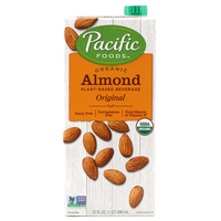 Pacific Organic Almond Beverage Original 946ml - US*