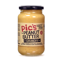 Pic's Peanut Butter Salted Crunchy 380g*