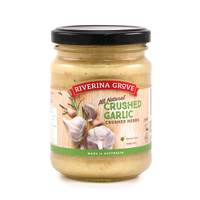 Riverina Grove Crushed Garlic 240g - Aus*