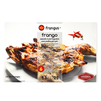 Frozen Rei Dos Frangos Grilled Chicken with Piri-Piri Hot Sauce (with sleeves) 740g - Portugal*