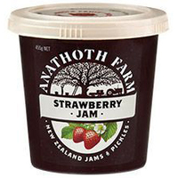Anathoth Farm Strawberry Jam 455g*