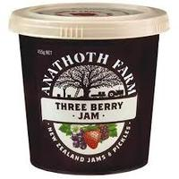 Anathoth Farm Three Berry Jam 455g*