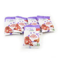 Bubs Organic Little Fingers Mini Breadsticks - Tomato 12+Months 5pieces*