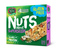 Mother Earth Nuts Bar Superseeds 160g*