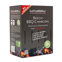 LotusGrill Beech Charcoal 1kg - Germany*