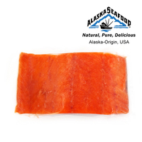 Frozen US Alaska Wild Catch Sockeye Salmon Fillet