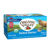 Organic Valley Lightly Salted Butter 454g*