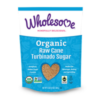 Wholesome Organic Raw Cane Turbinado Sugar 680g*