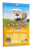 Organic Valley Stringles Colby jack 6oz - US*