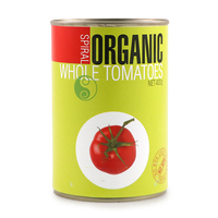 Spiral Organic Whole Peeled Tomato 400g - Italy*