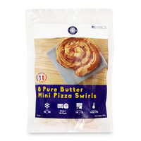 Frozen Bon Chef France Pure Butter Mini Pizza Swirls (8pcs) 280g*