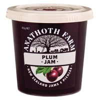 Anathoth Farm Plum Jam 455g*