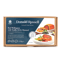 Frozen UK Donald Russell Beef Wellington W/Truffle Oil & Mustard 550g*