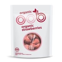 Frozen Omaha Organic Strawberries 500g - NZ*
