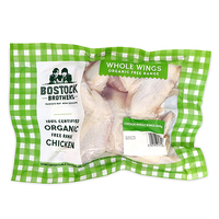 Frozen Bostock Brothers Organic Chicken Whole Wings 500g - NZ*