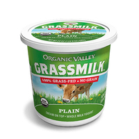Organic Valley Grassmilk Plain Yogurt 24oz*