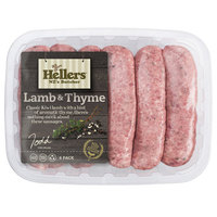 Frozen Hellers Lamb & Thyme Sausage 480g*