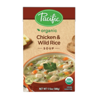 Pacific Organic Chicken & Wild Rice Soup 500g*