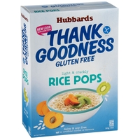 Hubbards Gluten Free Rice Pops 360g*