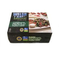 Frozen British Organic English Lamb Leg Steak 230g*